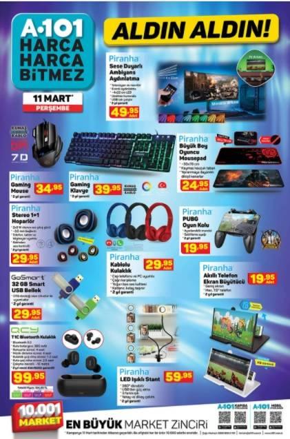 11 Mart'ta A101'de Kataloğu Yayınlandı! Televizyon, Cep Telefo 2
