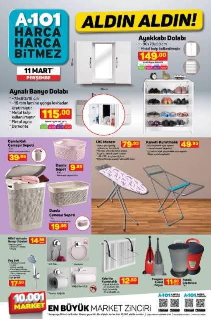 11 Mart'ta A101'de Kataloğu Yayınlandı! Televizyon, Cep Telefo 3