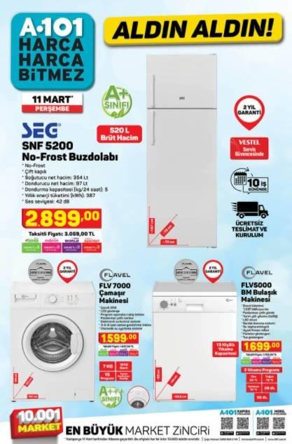 11 Mart'ta A101'de Kataloğu Yayınlandı! Televizyon, Cep Telefo 4