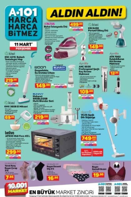 11 Mart'ta A101'de Kataloğu Yayınlandı! Televizyon, Cep Telefo 5