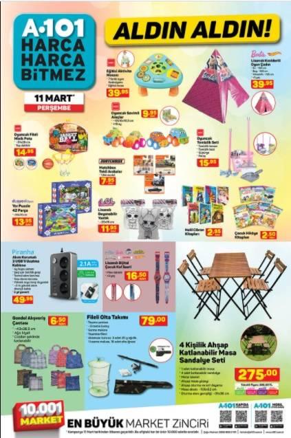 11 Mart'ta A101'de Kataloğu Yayınlandı! Televizyon, Cep Telefo 7